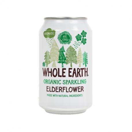 Whole Earth Fleur de sureau Bio 330ml