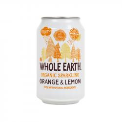 Whole Earth Sinaasappel/citroen Bio 330ml