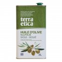 Extra Virgin Olive Oil From Sicily Organic 3L