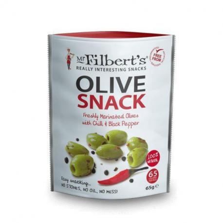 Mr Filberts - Olives Chilli & Black Pepper 65g