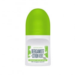 Déodorant naturel stick Bergamote + Citron vert 92g - Schmidt's