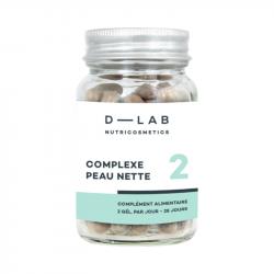 D-LAB - Complexe schone huid 100 caps