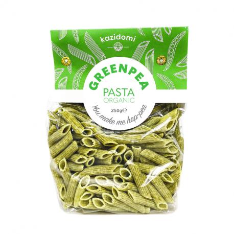 Kazidomi - Green Pea Pasta Organic 250g