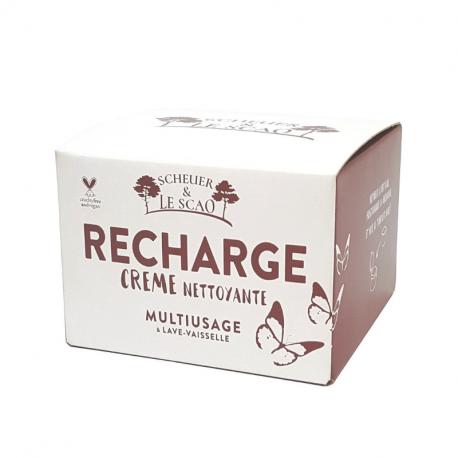 SCHEUER & LE SCAO - Recharge Crème Nettoyante Multiusage Bio 500g