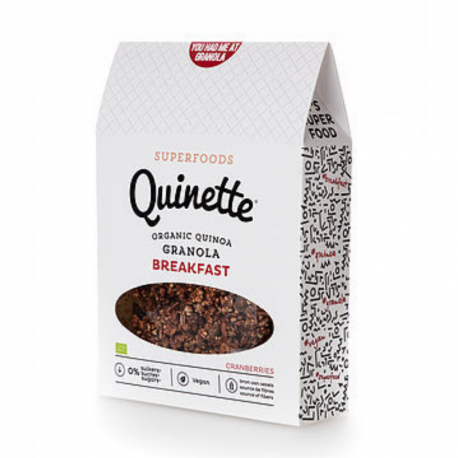 Quinette - Granola Breakfast 250 gr
