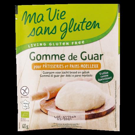 Gomme de Guar bio 60g - Ma vie Sans Gluten