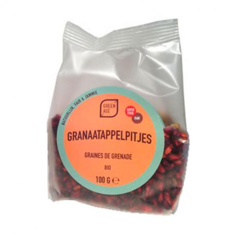 Pomegranate Seeds Organic 100g