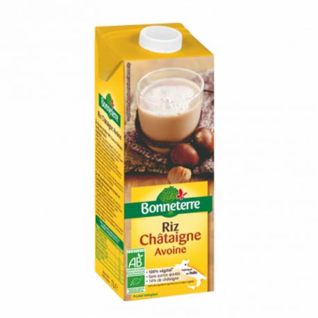 Chestnut Rice Oat Drink Organic 1L
