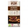 Chocolat Noir Corsé 70% Dessert Pâtissier Bio 200g