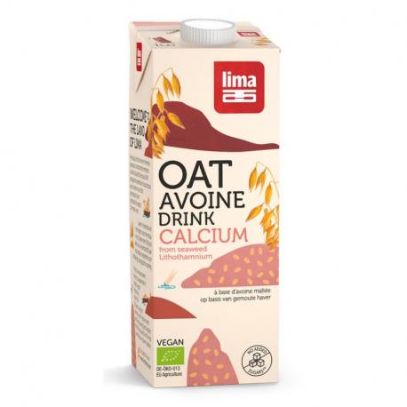 Boisson D'Avoine Calcium Bio 1L