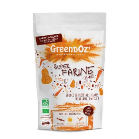 Super farine Orange légumes & légumineuses Bio 250g