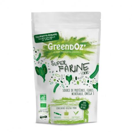 Super Green Flour Vegetables & Legumes Bio 250g