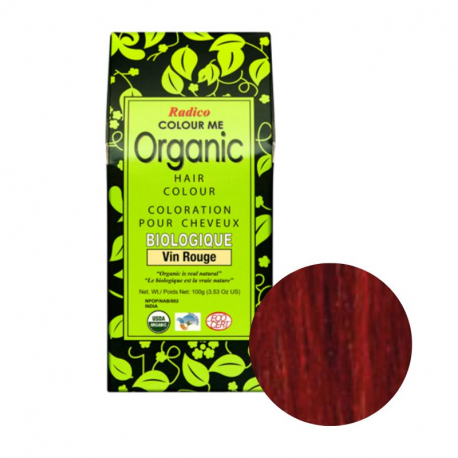 coloring red wine Organic 100g