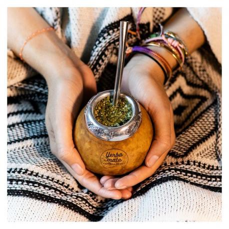 Calabash & Bombilla for Mate Organic