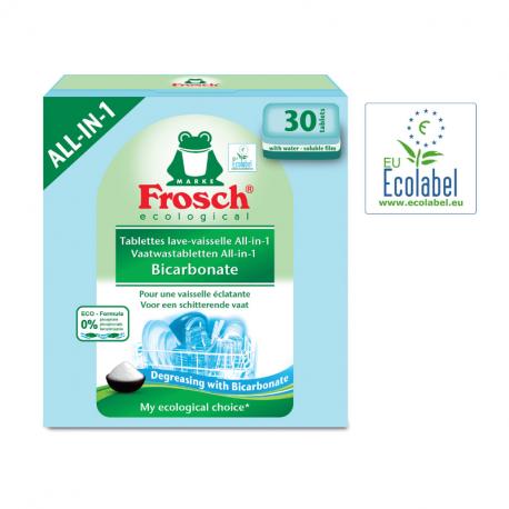 """Ecological Afwasmiddel Tabs Bicarbonate """"Ecolabel"""" 30 pcs"""