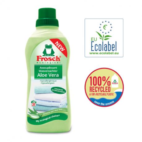 Ecological Wasverzachter Aloe Vera 750ml