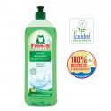 "Ecological Hand Dish Washing Liquid Green Lemon ""Ecolabel"" 750ml"
