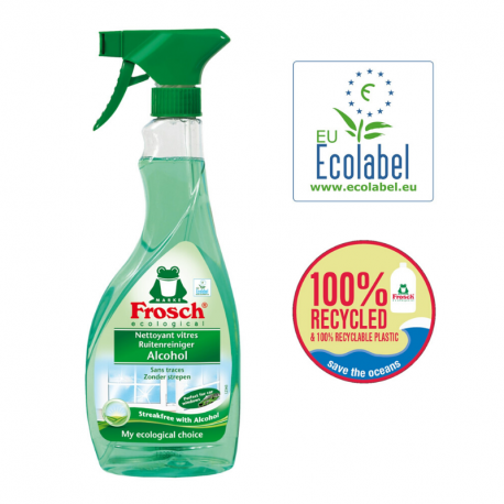 """Ecological Glass cleaner """"Ecolabel"""" 500ml"""