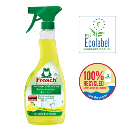 "Ecological Bathroom Cleaner Lemon ""Ecolabel"" 500ml"