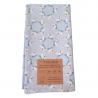 Furoshiki light blue gift packaging Birds Organic