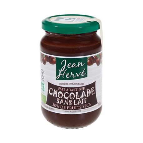 Pâte à tartiner chocolat noir (sans lait) 350g, Jean hervé,
