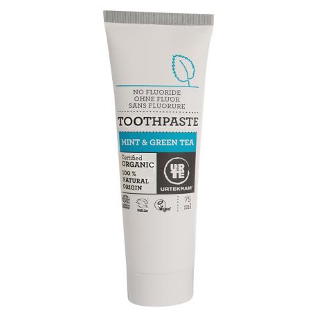 Dentifrice menthe - the vert 75 ml, Urtekram, Soins dentaires