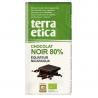 Chocolat Noir 80% Equateur & Nicaragua Bio