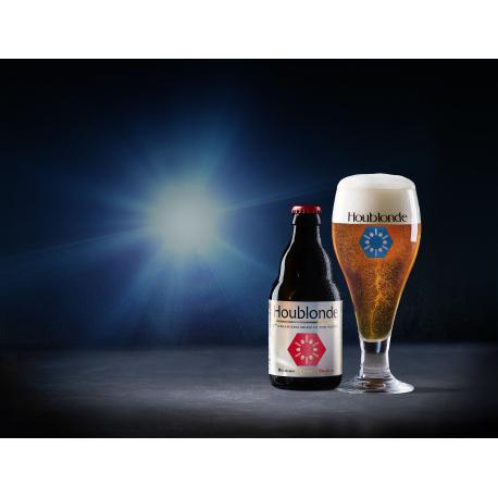 Houblonde - 1st Belgisch Bio & Gedynamiseerd Bier ter Wereld ! 4 X 33 cl