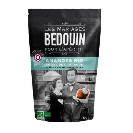 BEDOUIN - Amandes apéritives au Sel de Camargue Bio 125g
