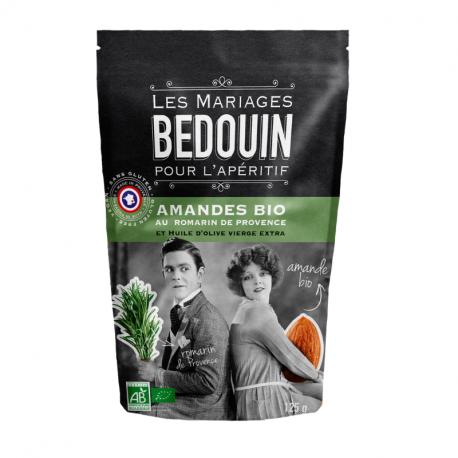 BEDOUIN - Amandes apéritives au Romarin de Provence Bio 125g