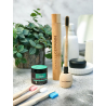 Bamboe tandenborstelhouder