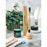 Bamboo toothbrush case