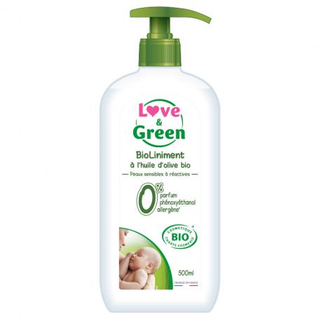 Love&Green - Véritable liniment hypoallergénique 0% 400 ml