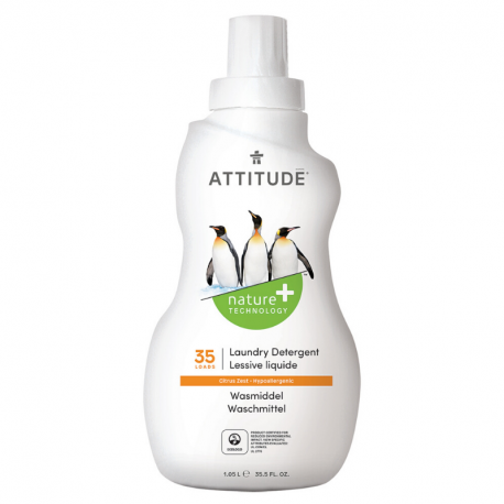 Lessive liquide naturelle zeste d'agrumes (35 doses) 1,05L