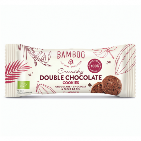 Dubbele Chocolade & Fleur de Sel Organic 40g