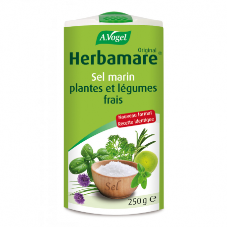 A. Vogel Herbamare, kruidenzout (biologisch) 250g,Zouten.