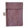 Soap Bag in Linen - Fig Color