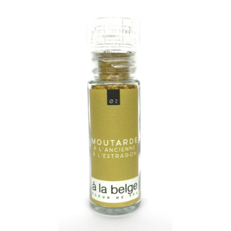 Old fashioned mustard salt with tarragon 25g