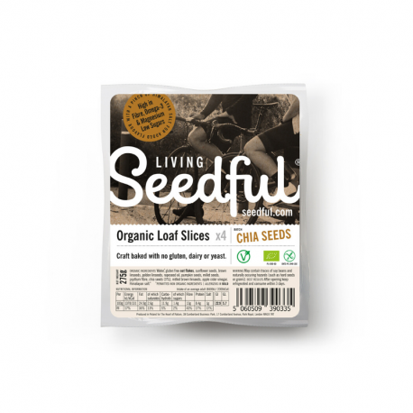Seeded Loaf Slices CHIA SEEDS Organic 275g