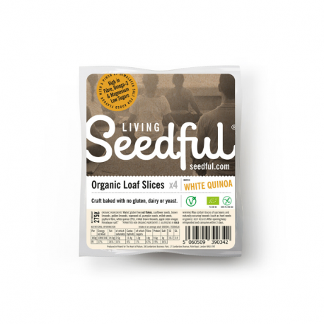 Seeded Loaf Slices QUINOA Organic 275g