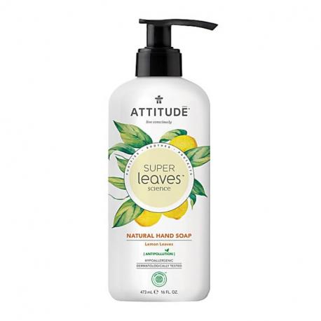 Attitude - SuperLeaves Natural Hand Soap Lemon leaves - 473ml