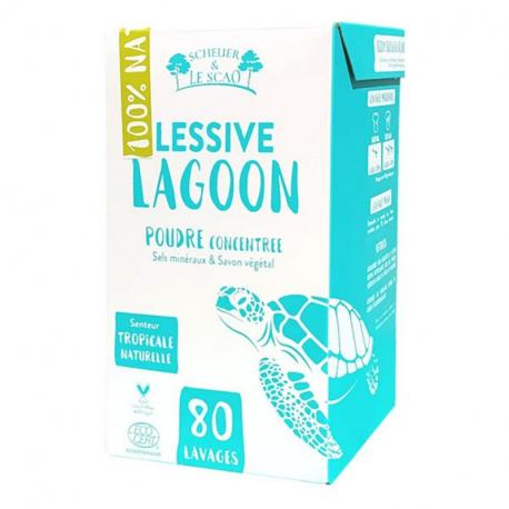 SCHEUER & LE SCAO - Lessive Lagoon Naturelle Bio 1.7kg