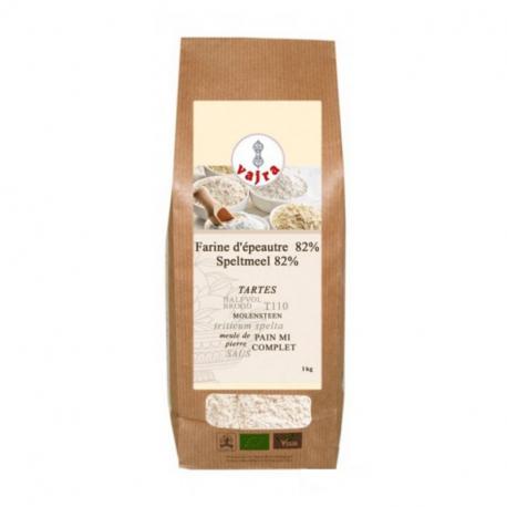 SPELT FLOUR 82% (T110) Organic 1kg