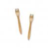 100 houten vorken