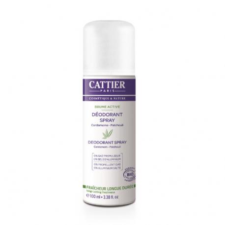 Cardamom patchouli spray deodorant Organic 100ml