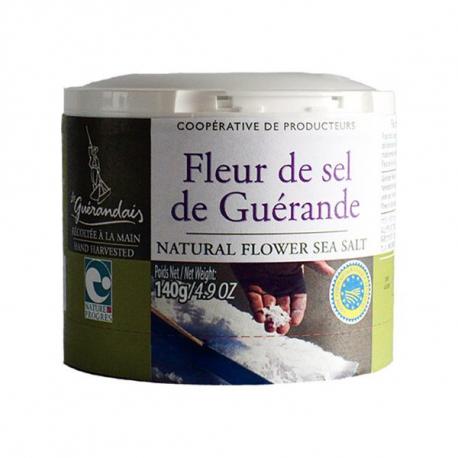 Fleur de sel de Guérande 125g, GUERANDAIS, Sels