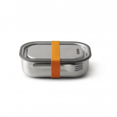 Black + blum Boite repas orange acier inoxydable