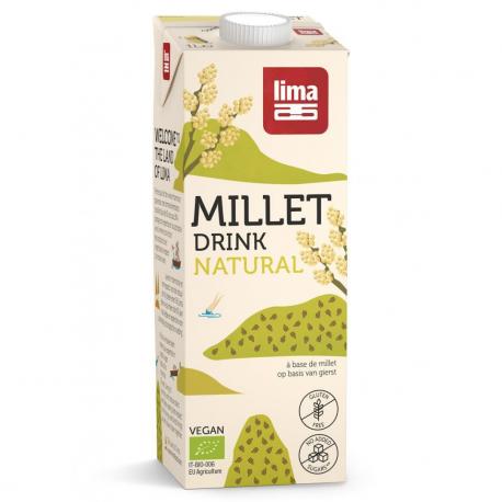 Lima Lait de millet (sans gluten et bio) 1L, Lima, Laits