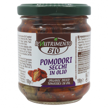 Tomates séchées à l'huile d'olives 190g, NUTRIMENTO, Anti pasti