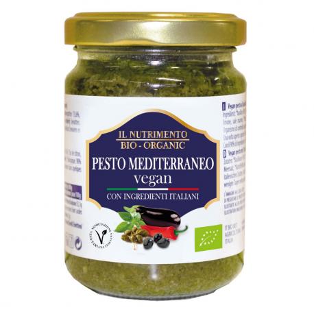 Pesto aubergine 130g
